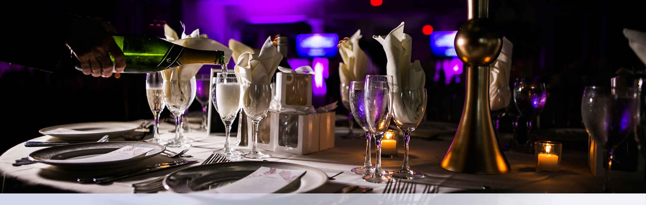 Stirling New Jersey Wedding Catering Server