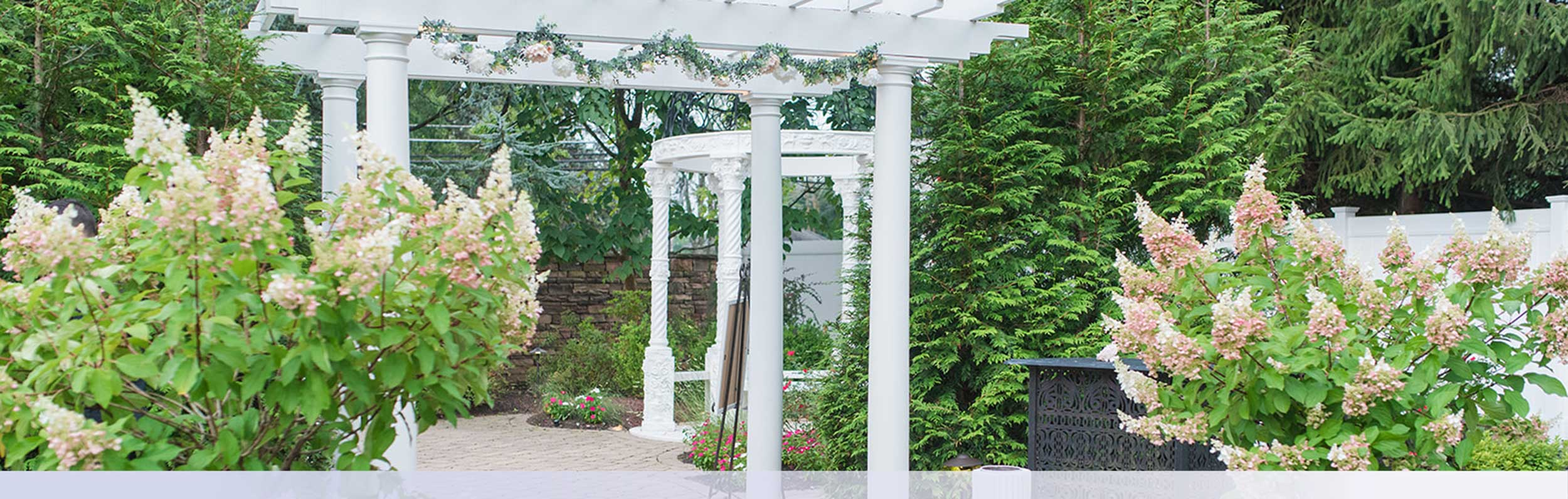 Amazing Outdoor Nj Wedding Venue Garden
