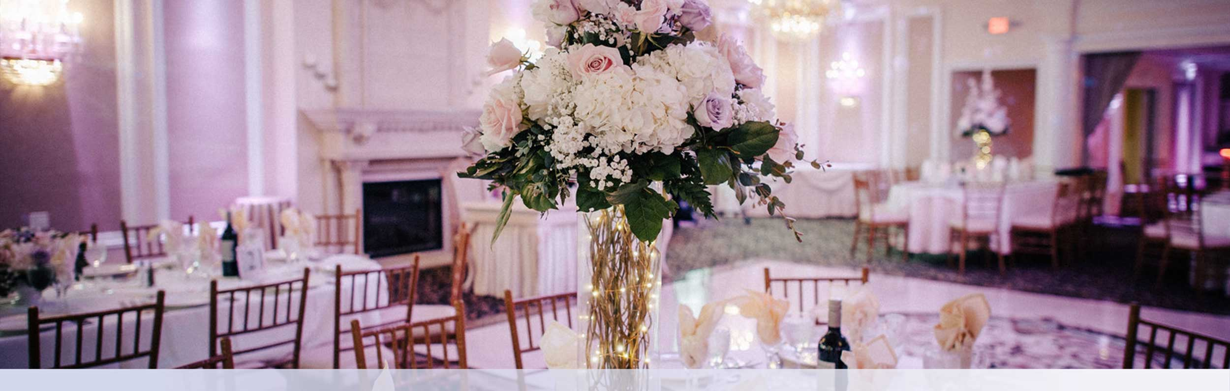 Wedding Romantic New Jersey Reception Venue