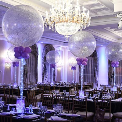 Ballroom Setup for Mitzvah Party