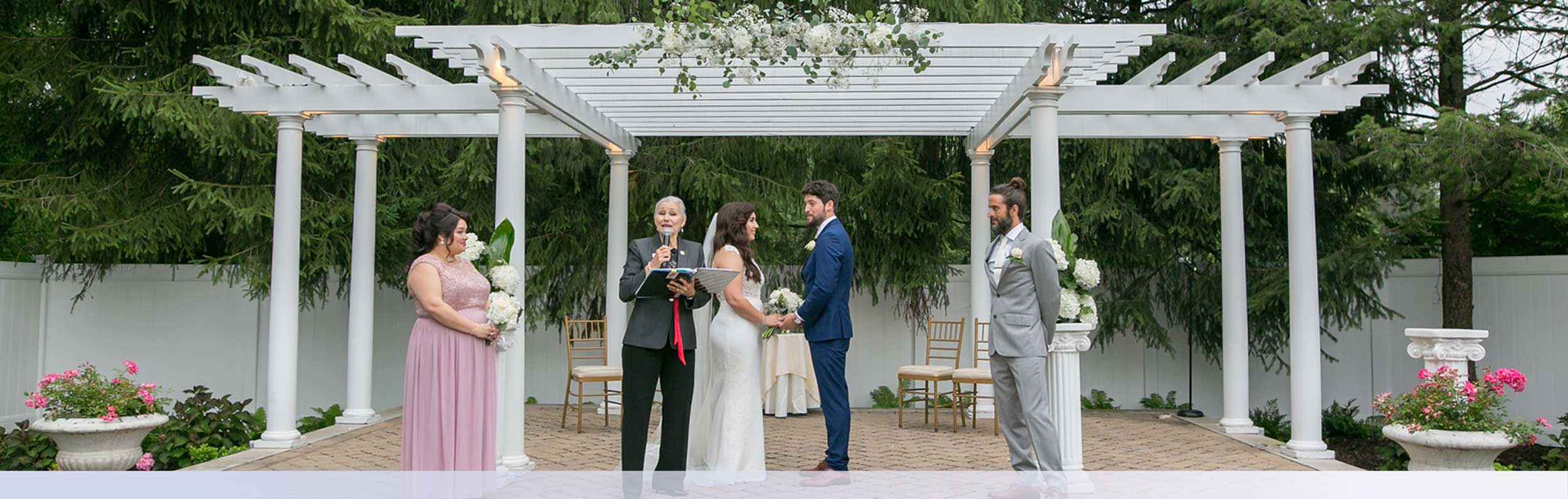Outdoor New Jersey Wedding Ceremony Venue