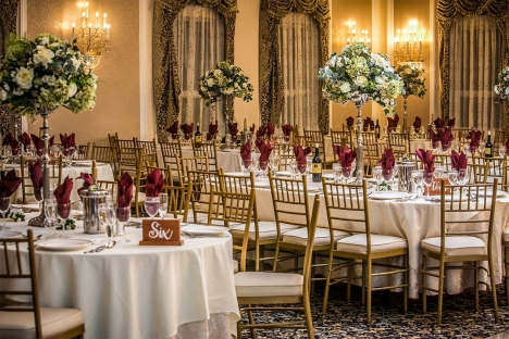 Amazing New Jersey Wedding Reception Venue Tables