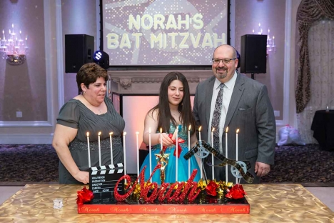 Bar Mitzvah Candles Ceremony Venue Mozel Tov