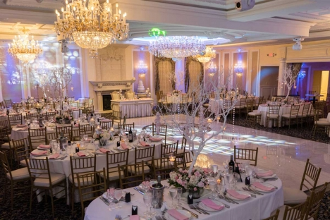 Elegant Anniversary Birthday Party Venue