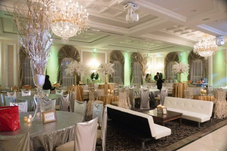 Elegant Anniversary Party Event Celebration Venue