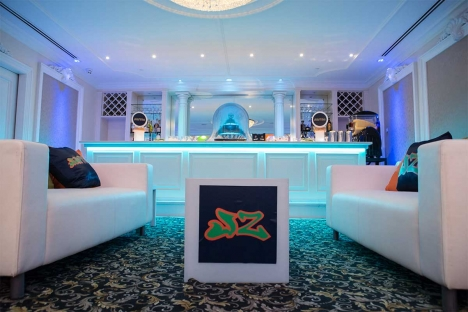 Elegant Lounge New Jersey Bar Mitzvah Venue