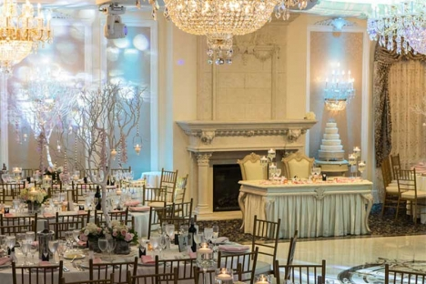 Elegant New Jersey Wedding Reception Venue