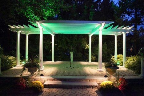 Elegant Outdoor Event Venue Pergola