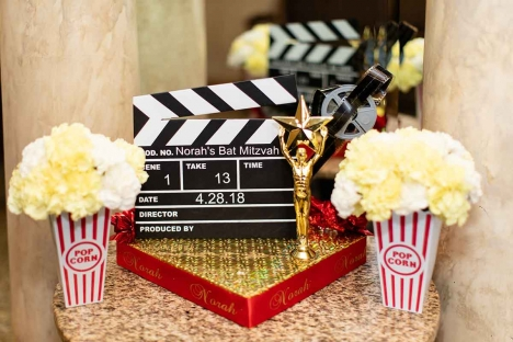 Elegant Themed Mitzvah Movie Star Party Favors