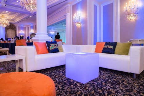 Fun Bar Mitzvah Venue Lounge Setup Couches