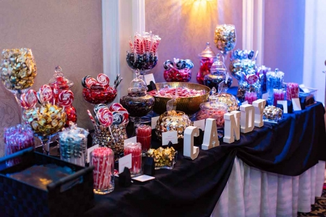 Mitzvah Trends Candy Bar Ballroom Party Venue