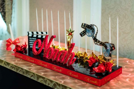 Movie Star Themed Venue Professional Party Planning