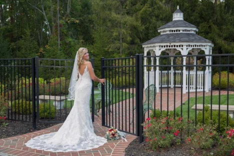 New Jersey Bride Elegant Outdoor Wedding Ceremony Gazebo