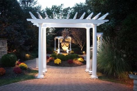 New Jersey Outdoor Wedding Venue Garden Trellis