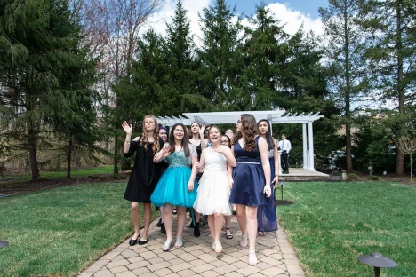 Outdoor Mitzvah Sweet Sixteen Party Venue