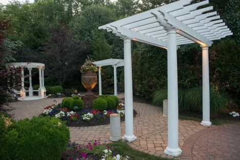 Outdoor New Jersey Event Venue Garden