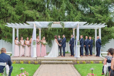 Stirling Nj Outdoor Wedding Event Venue Ceremony Garden