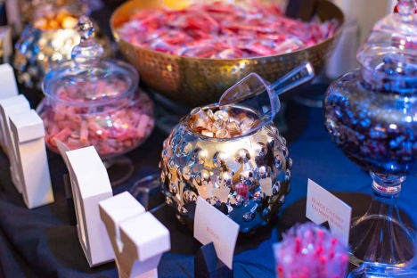 Sweet Sixteen Party Ballroom Candy Bar