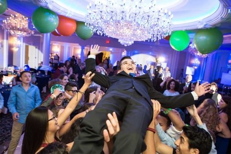 Traditional Nj Bar Mitzvah Venue Birthday Boy
